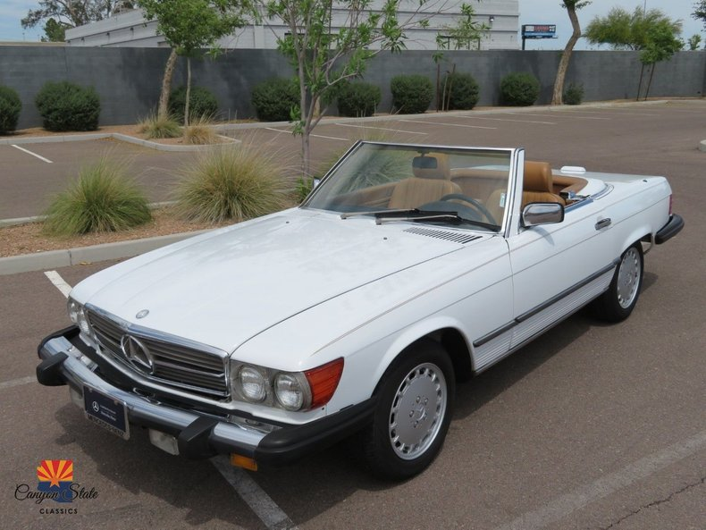 1989 Mercedes-Benz 560 Series For Sale