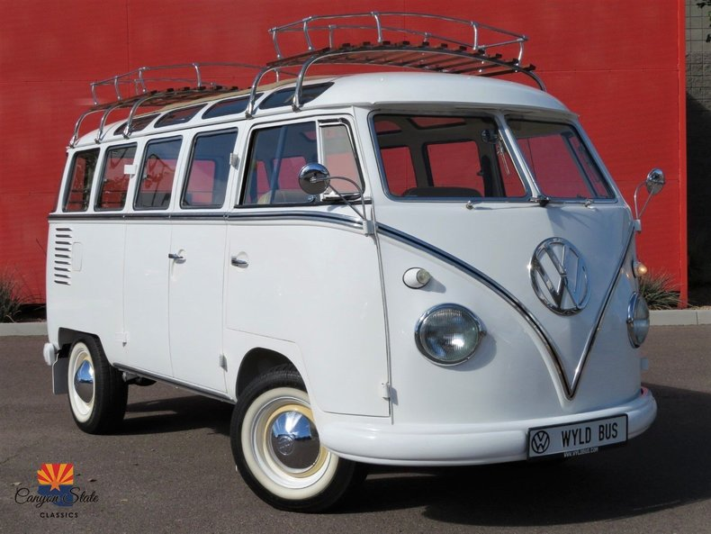 1960 Volkswagen 23 Window Samba Bus For Sale