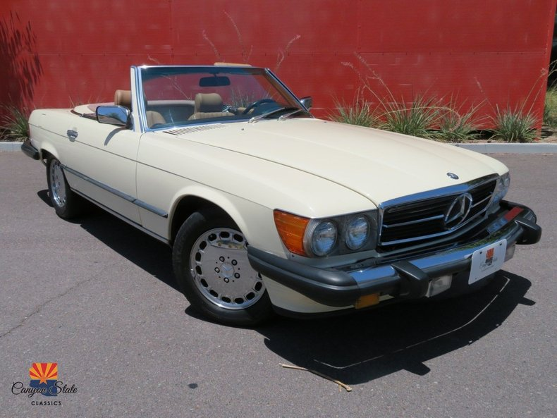 1986 Mercedes-Benz 560 SL For Sale