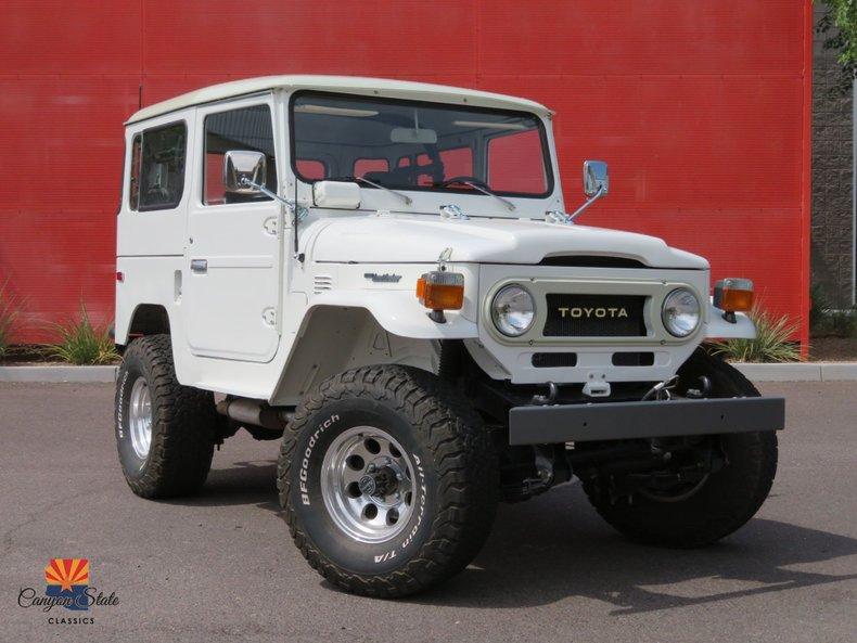 1976 Toyota FJ40 For Sale