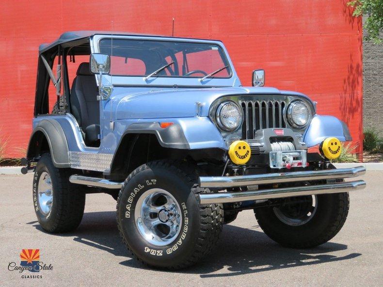 1980 Jeep CJ5 For Sale