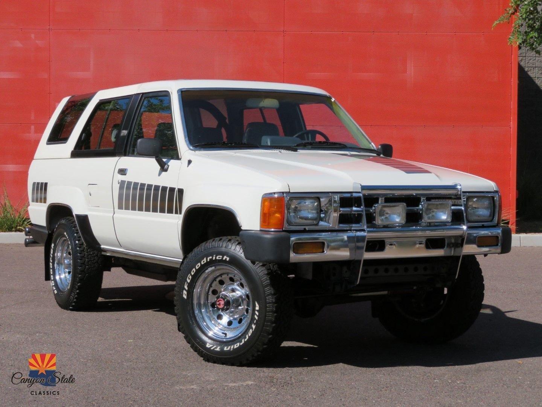 1985 Toyota 4runner 4WD