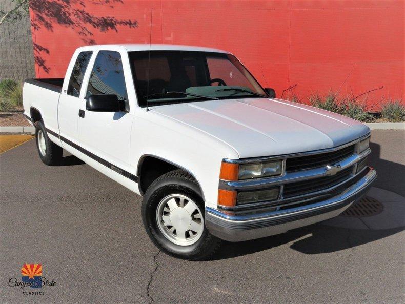 "1996 Chevrolet C/K 1500 Ext Cab 141.5"" WB"