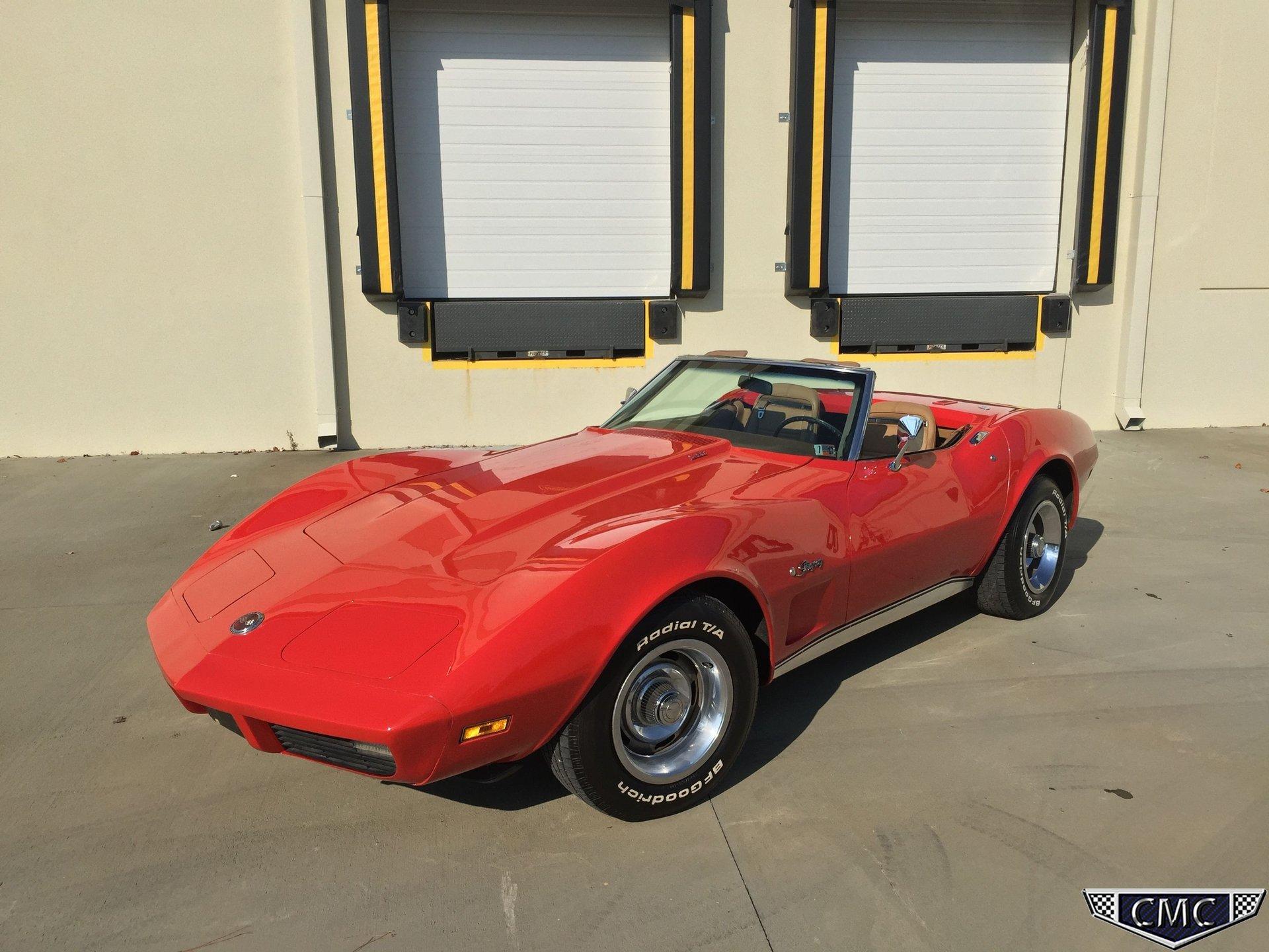 1974 chevrolet corvette l 82 convertible