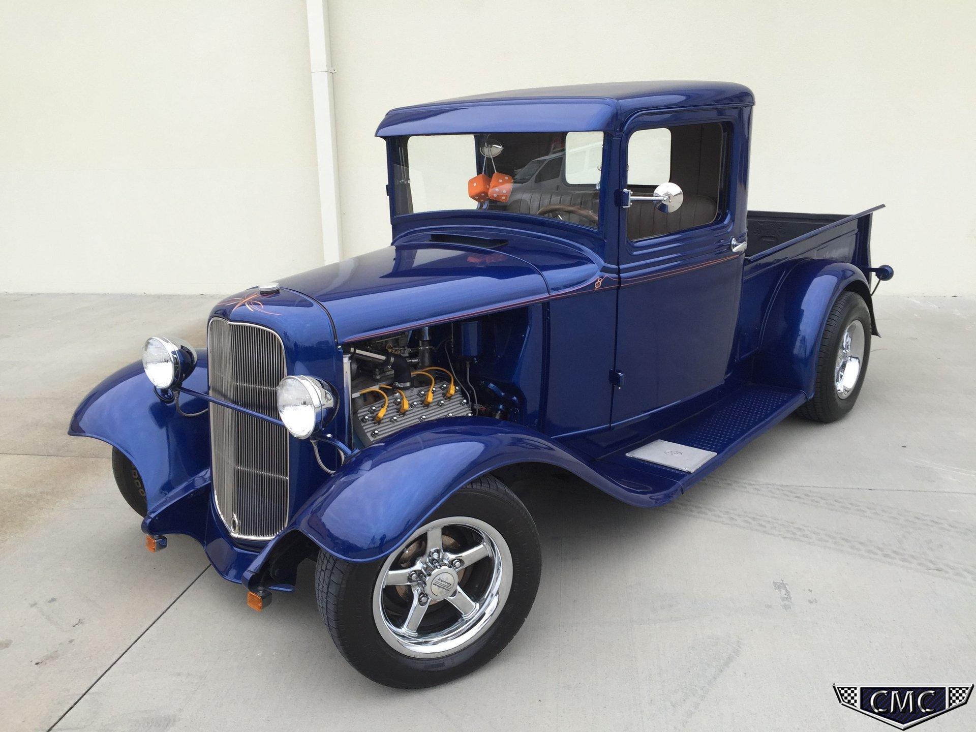 1934 ford pick up flat head 8
