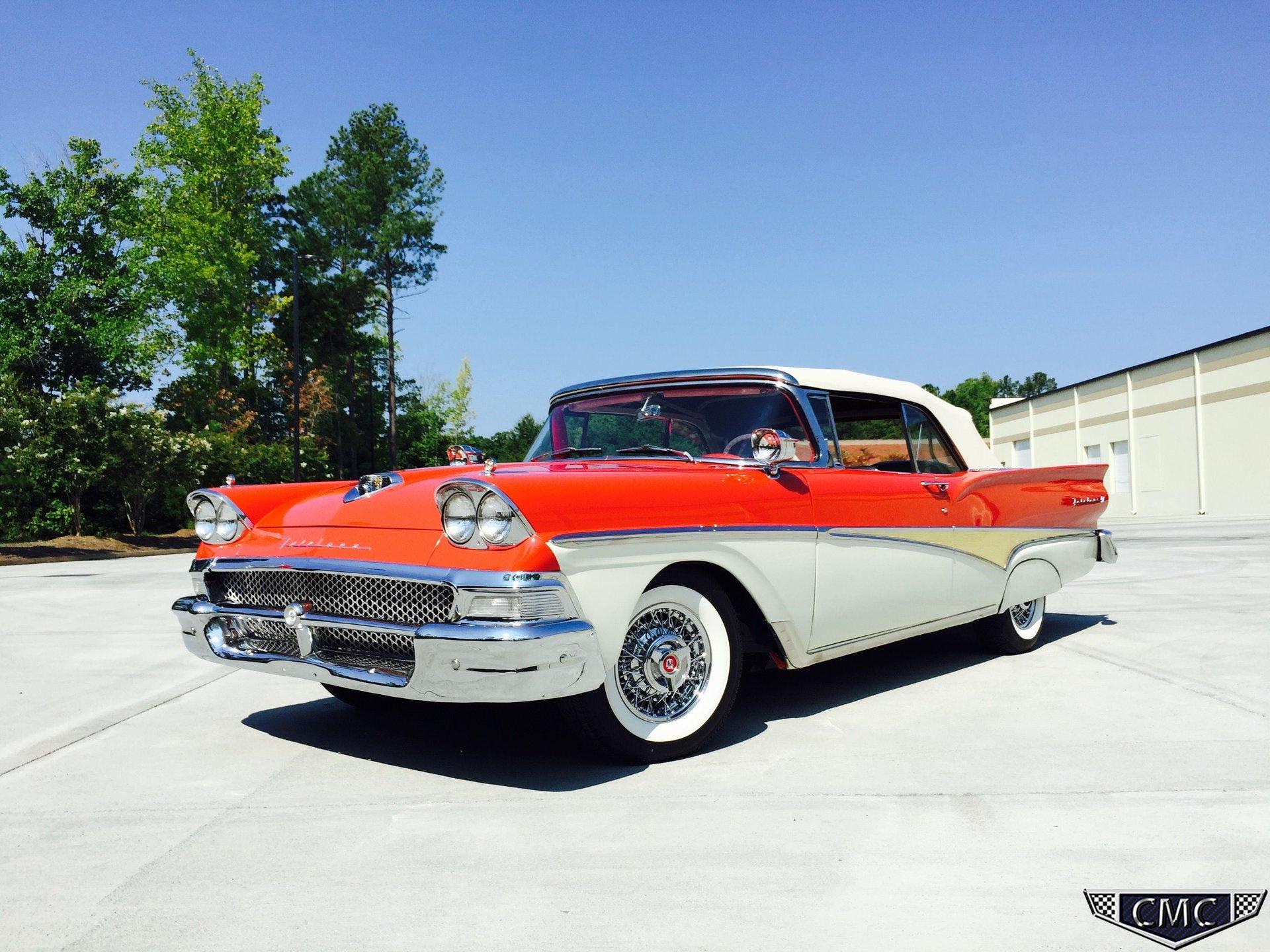 1958 ford fairlane sunliner