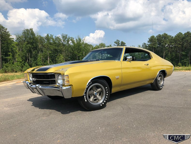1971 Chevrolet Chevelle Carolina Muscle Cars Inc