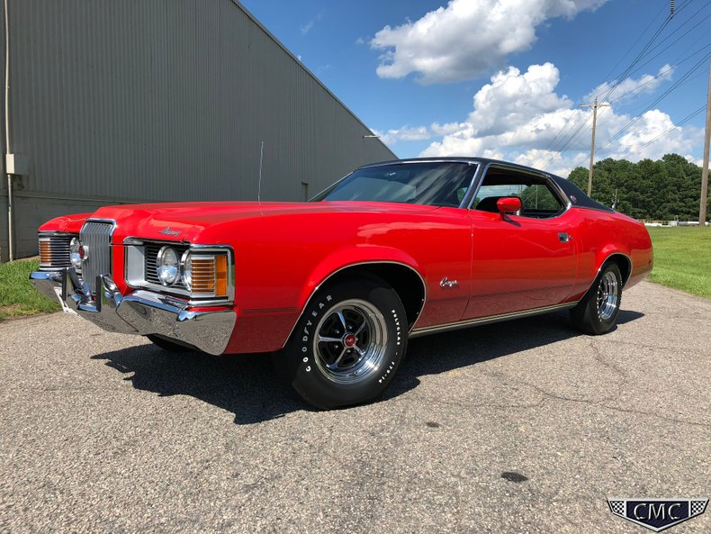 1972 Mercury Cougar For Sale