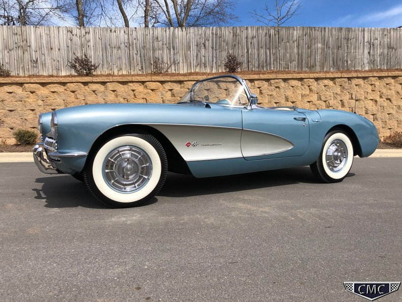 1957 Chevrolet Corvette Convertible Fuel Injection