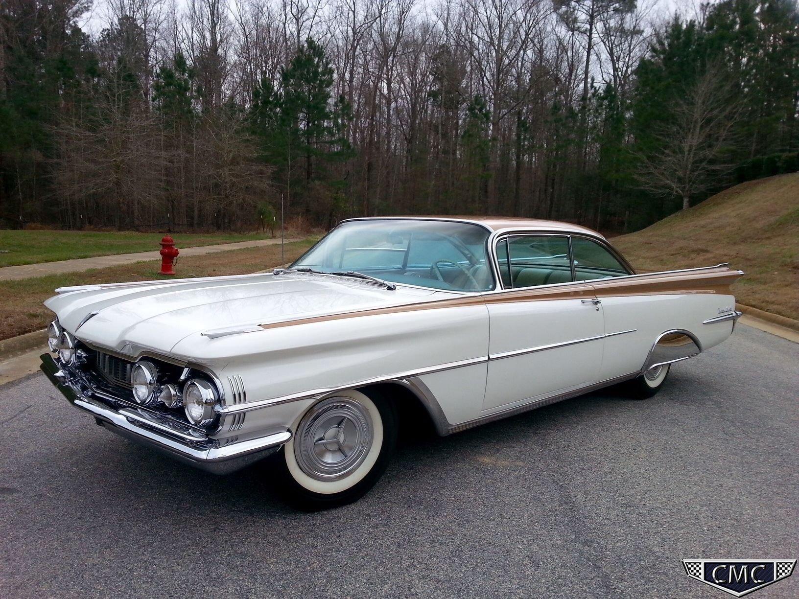 1959 oldsmobile 98 holiday 2dr hdtp