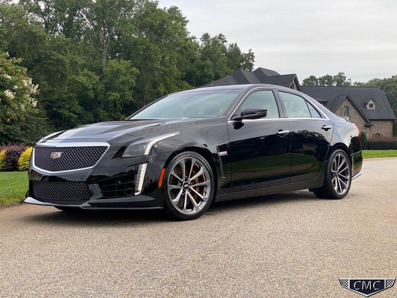 2018 Cadillac CTSV