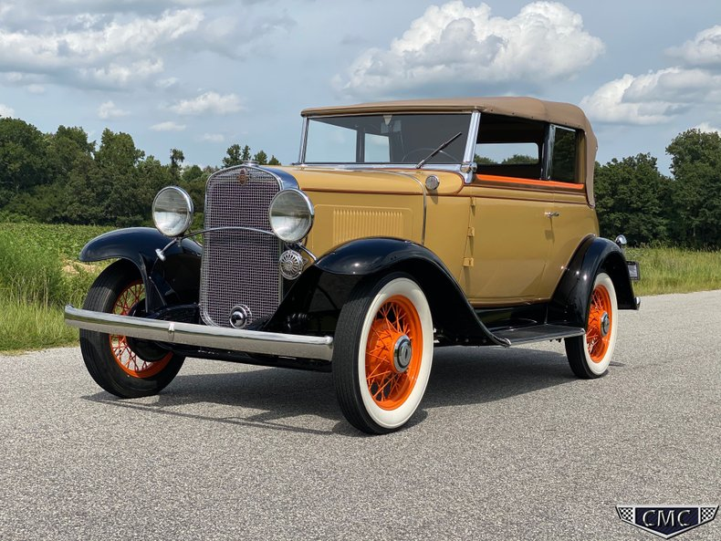 1931 Chevrolet AE Independence Victoria Phaeton
