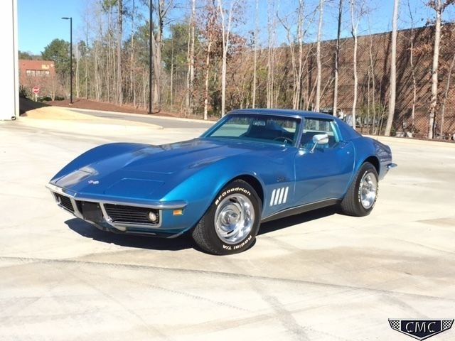 Corvette Stingray 1969 >> 1969 Chevrolet Corvette Carolina Muscle Cars Inc