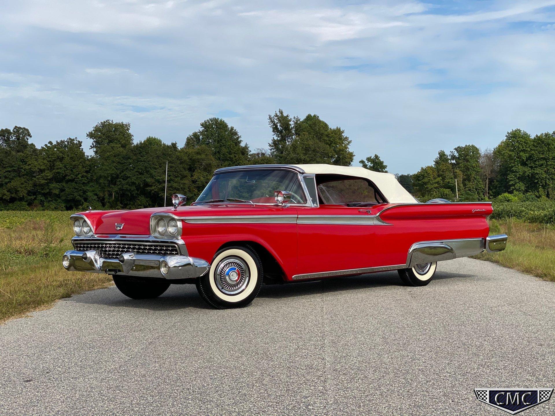 1959 ford fairlane sunliner