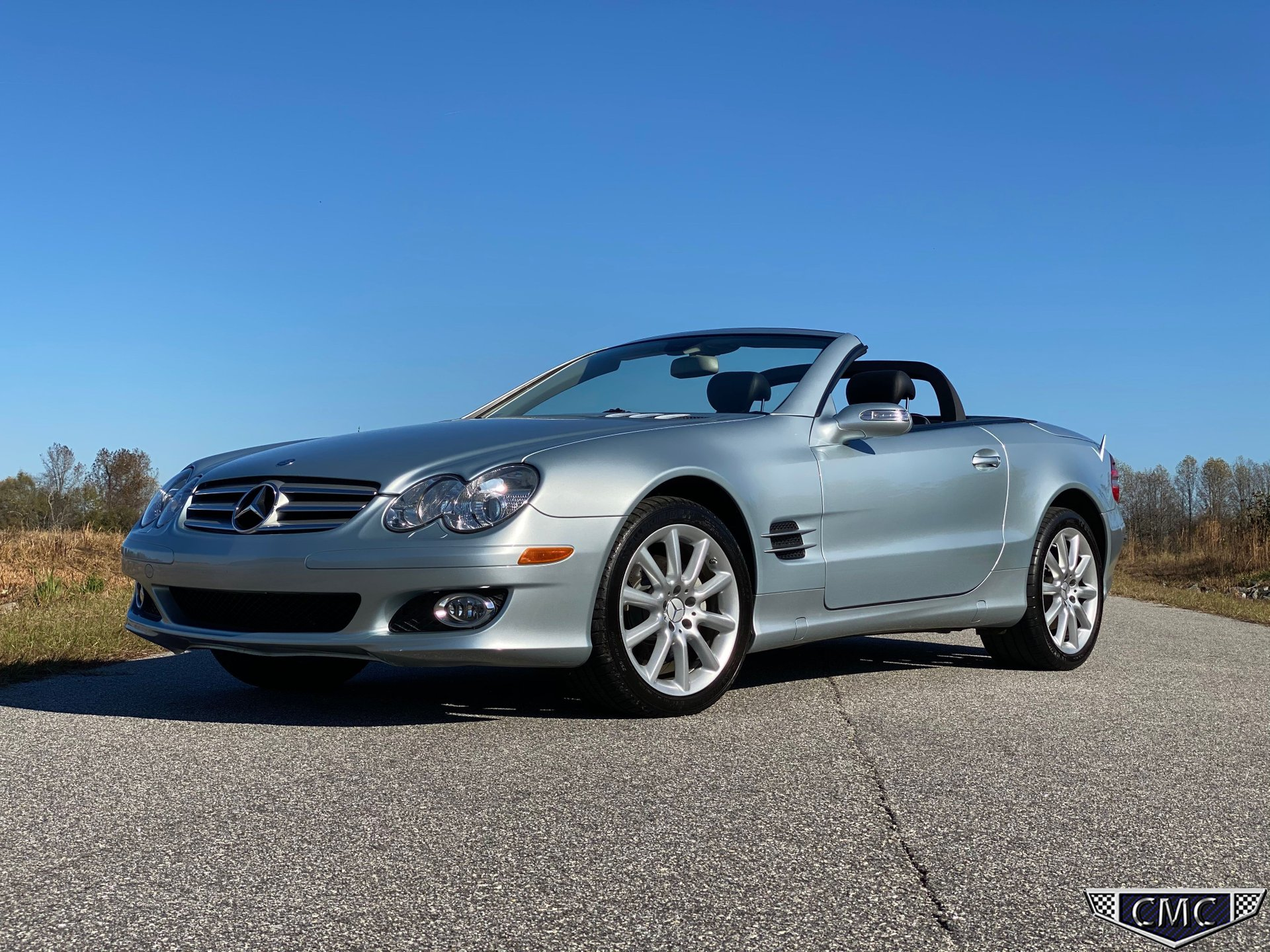 2007 mercedes benz sl 550