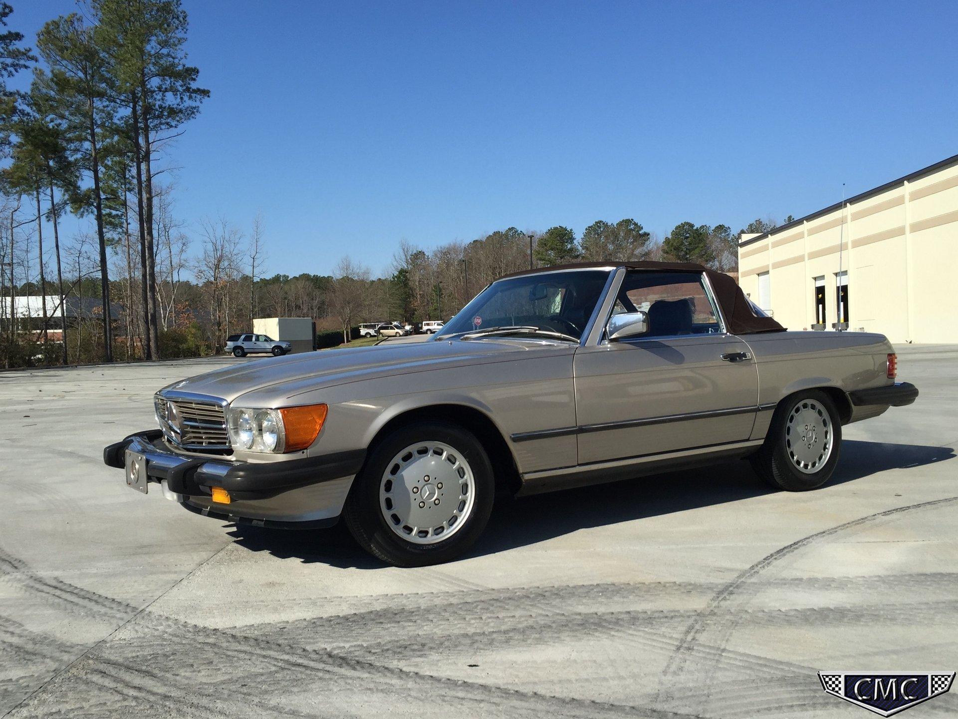1986 mercedes benz 560 sl
