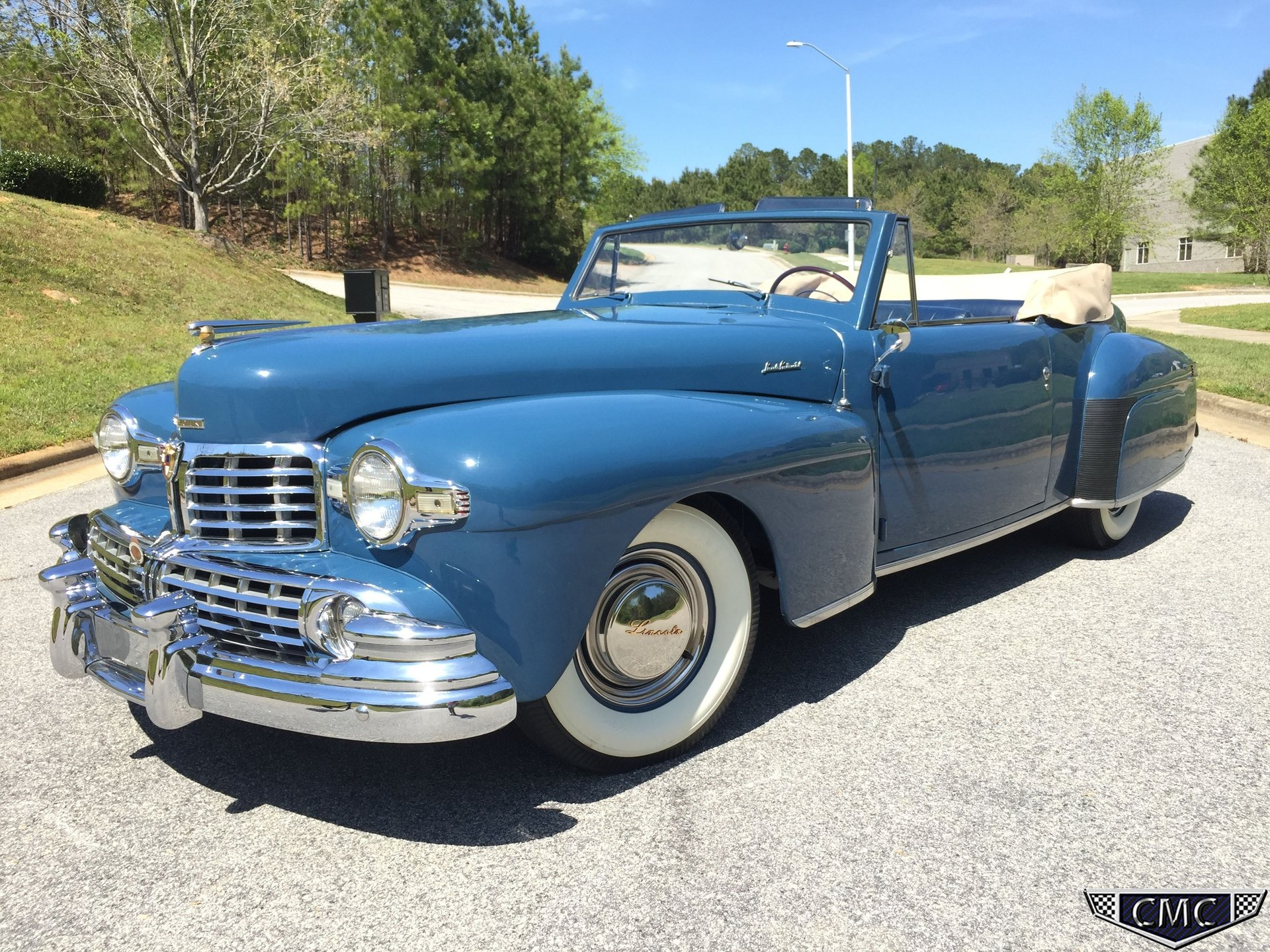 1948 lincoln continental cabriolet