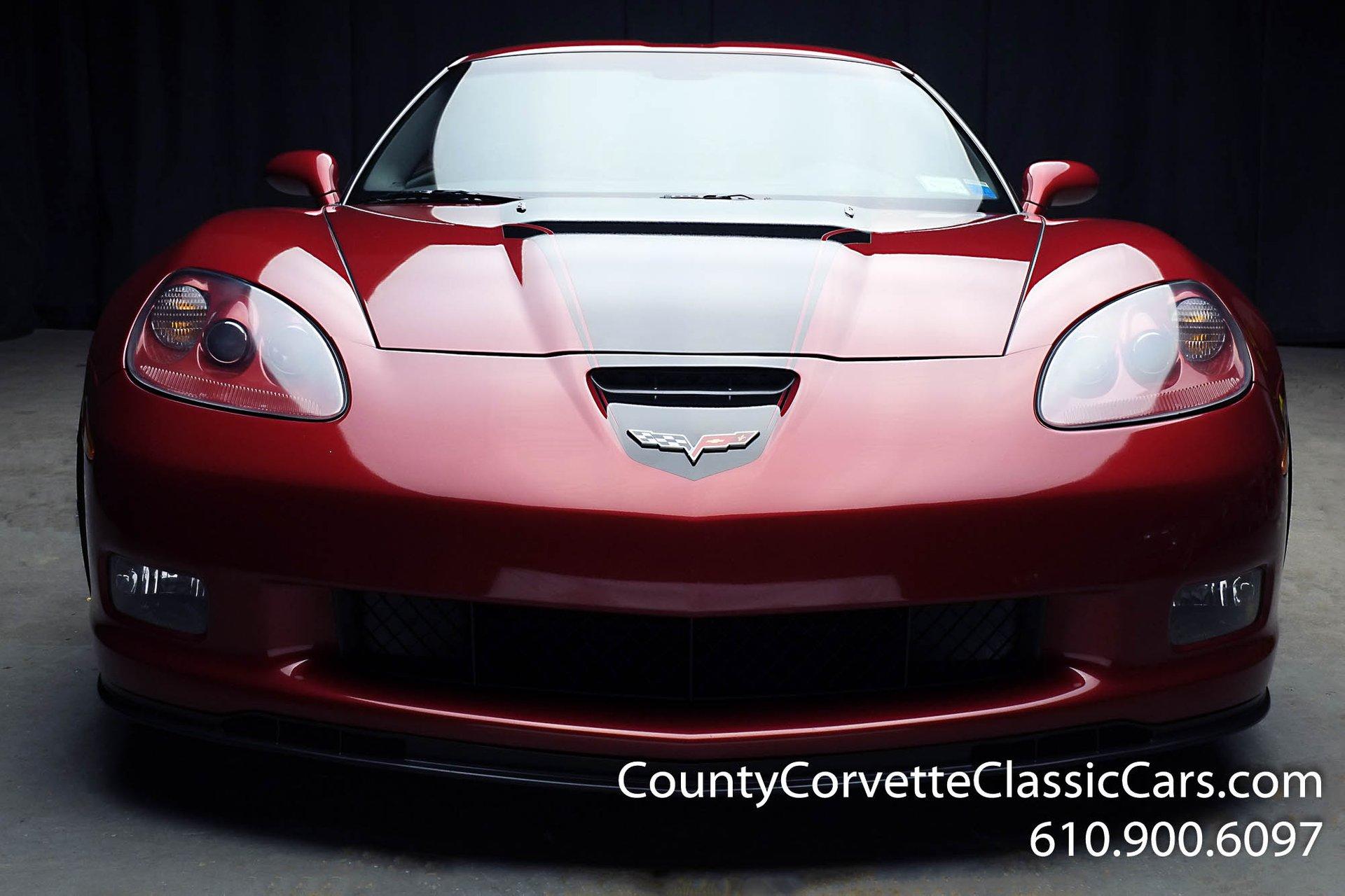 2008 chevrolet corvette z06 commemorative edition