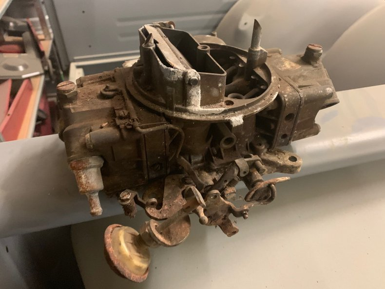 1969 Ford Cobra Jet Holley 4609 Carb