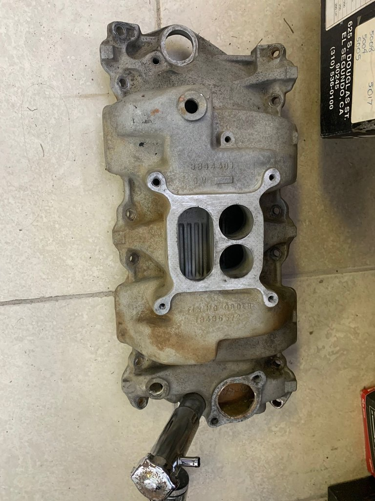 1964-65 Corvette 327/350Hp or 365Hp Aluminum Intake