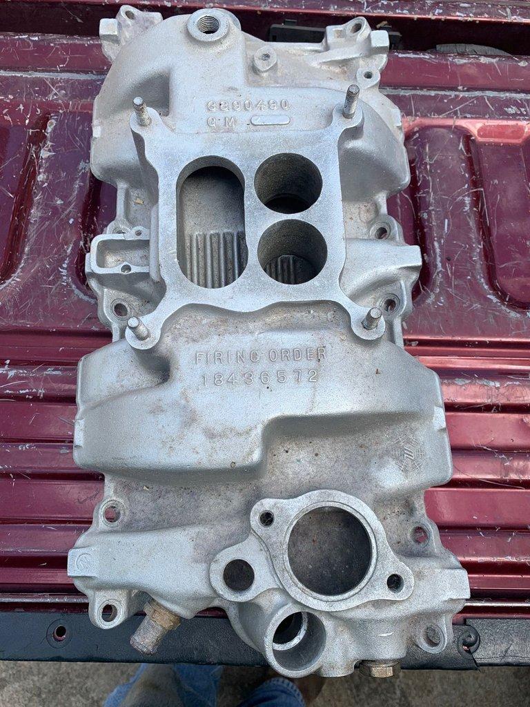 1966-67 Chevy Corvette 327/350Hp Aluminum Intake
