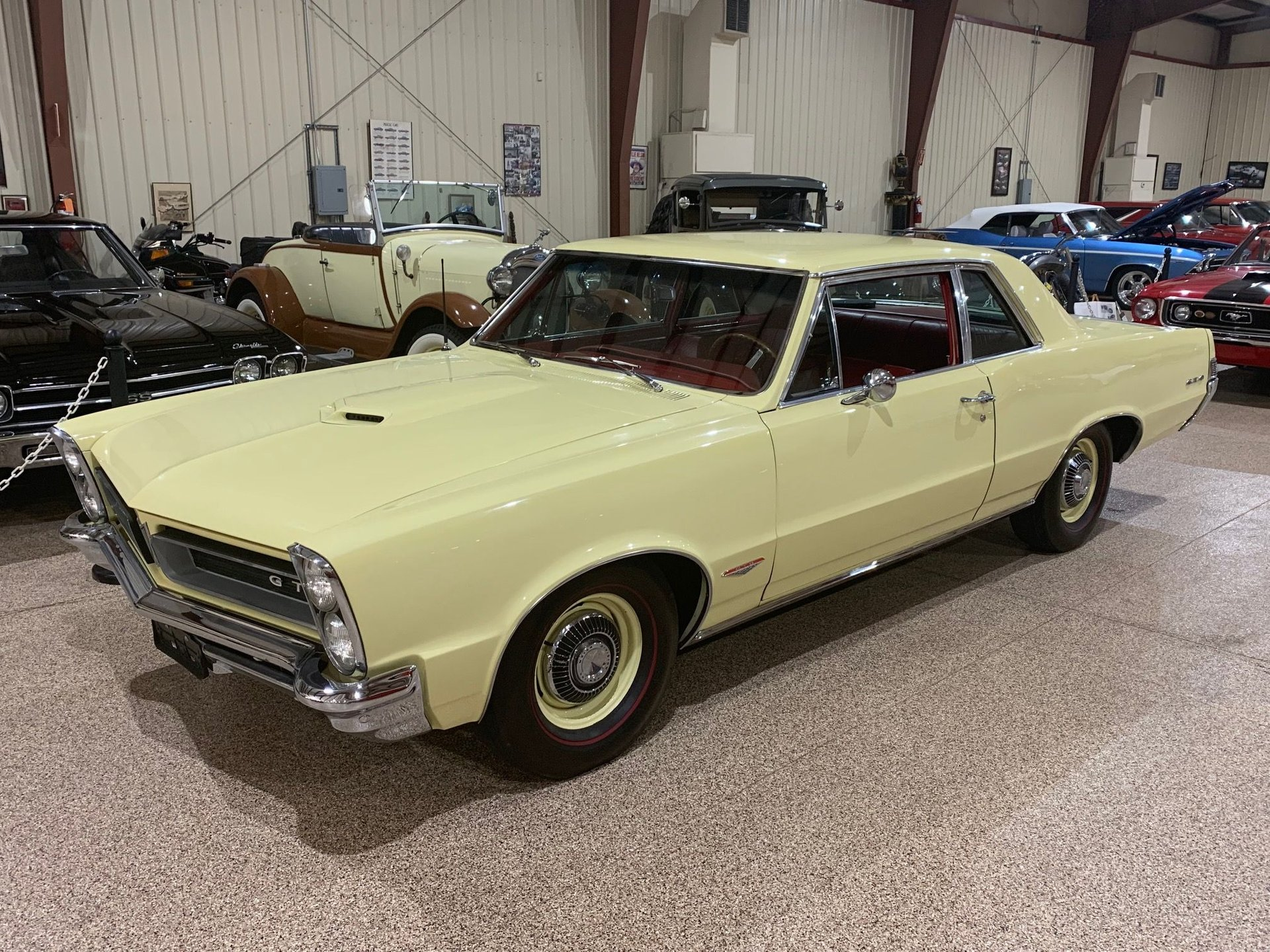 1965 pontiac gto special ordered