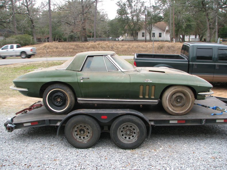 1966 Chevrolet Corvette Barn Find