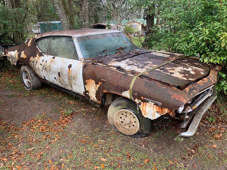 1969 Chevelle Malibu Parts Car