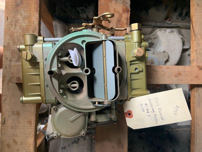 1964 327 350/365 CARBURATOR