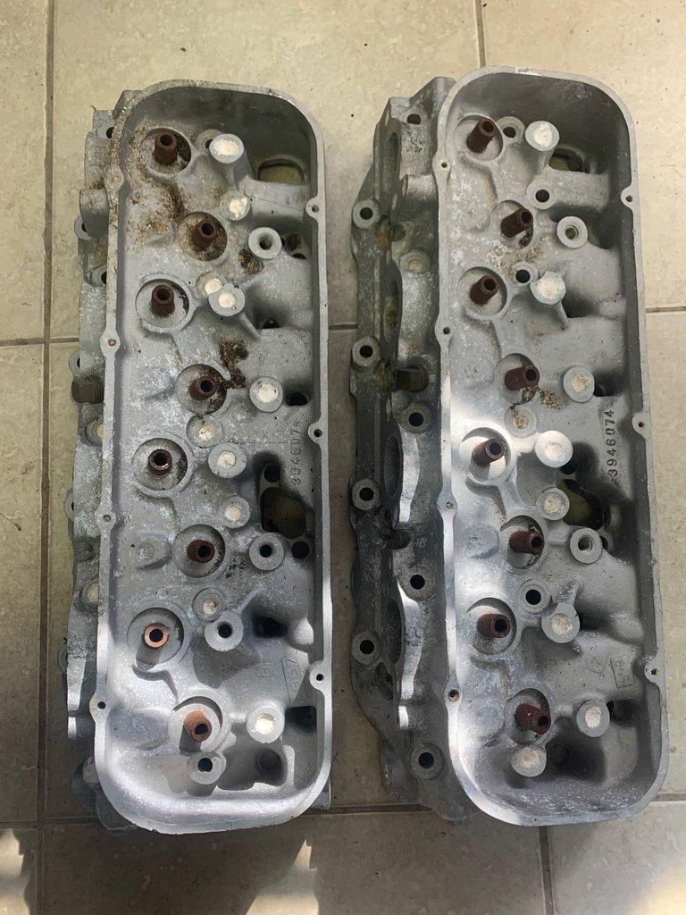 1969 Dated 074 Aluminum Heads L88 ZL1
