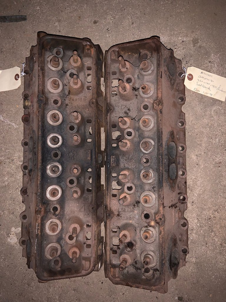 1974-80 350,400,76cc chambers small block, cylinder heads