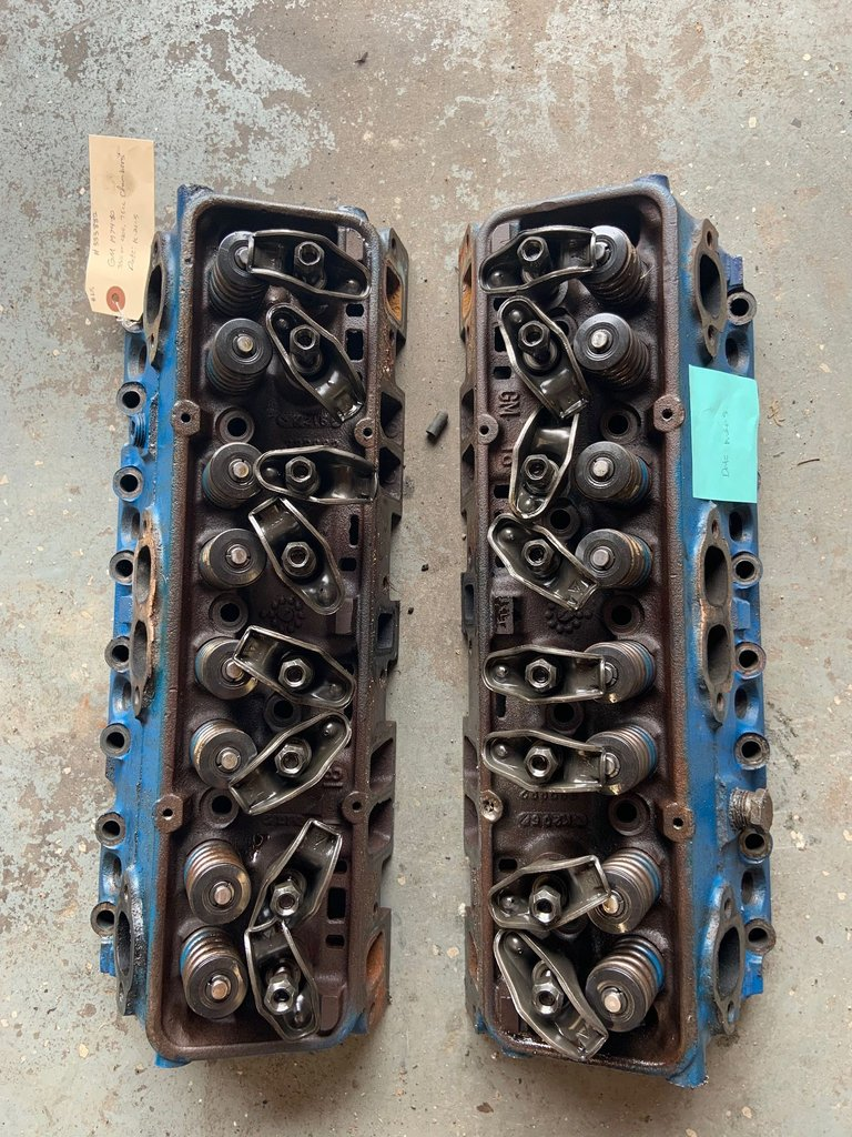 1974-80 350 or 400, 76cc chambers cylinder heads