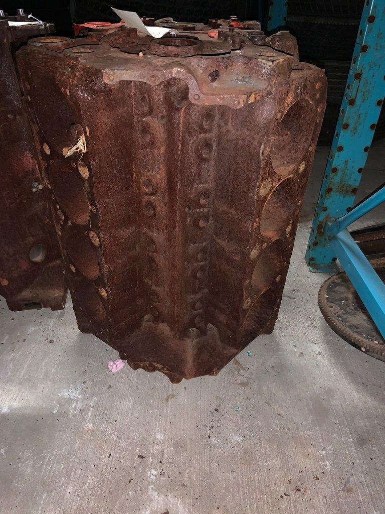 1967 4-BOLT MAIN 350 BLOCK