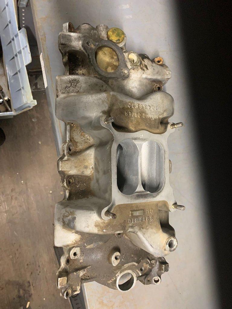 1967-68 Camaro Z28 302 Factory Intake Manifold