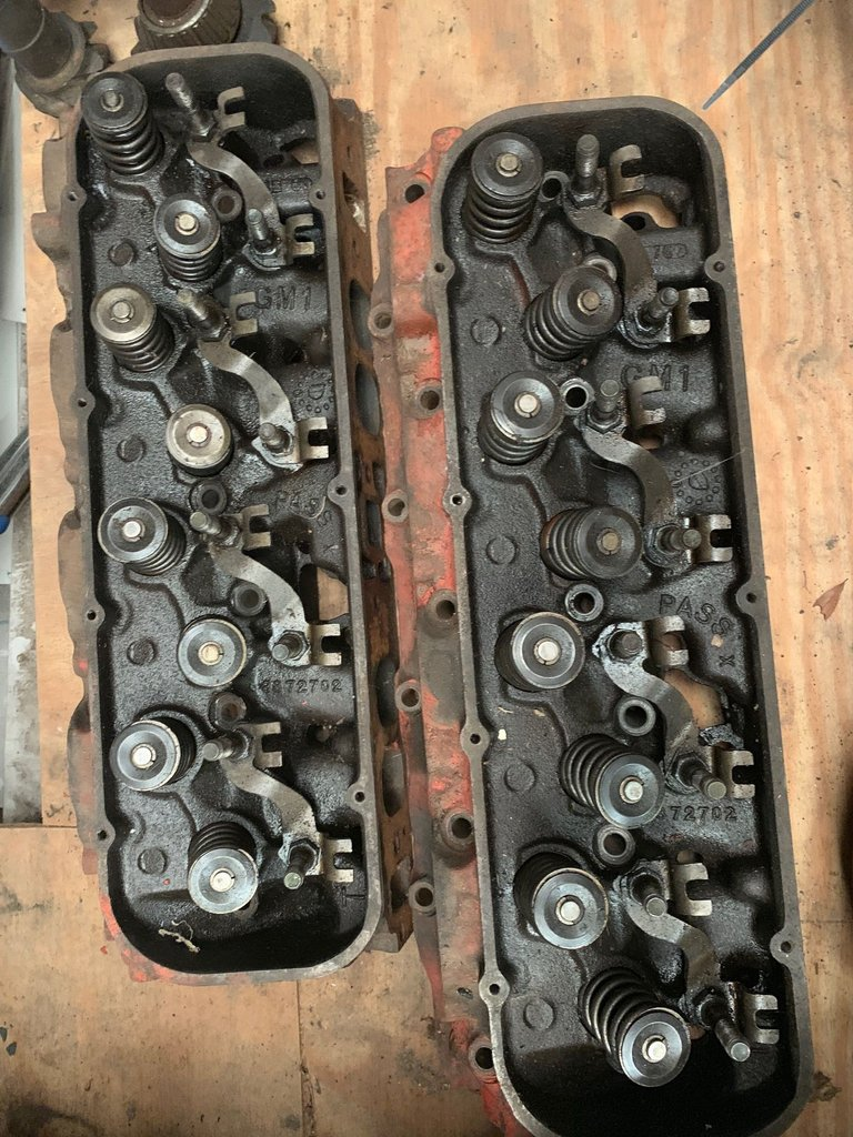 1966 #3872702 Big Block 396/427 Oval Port Heads
