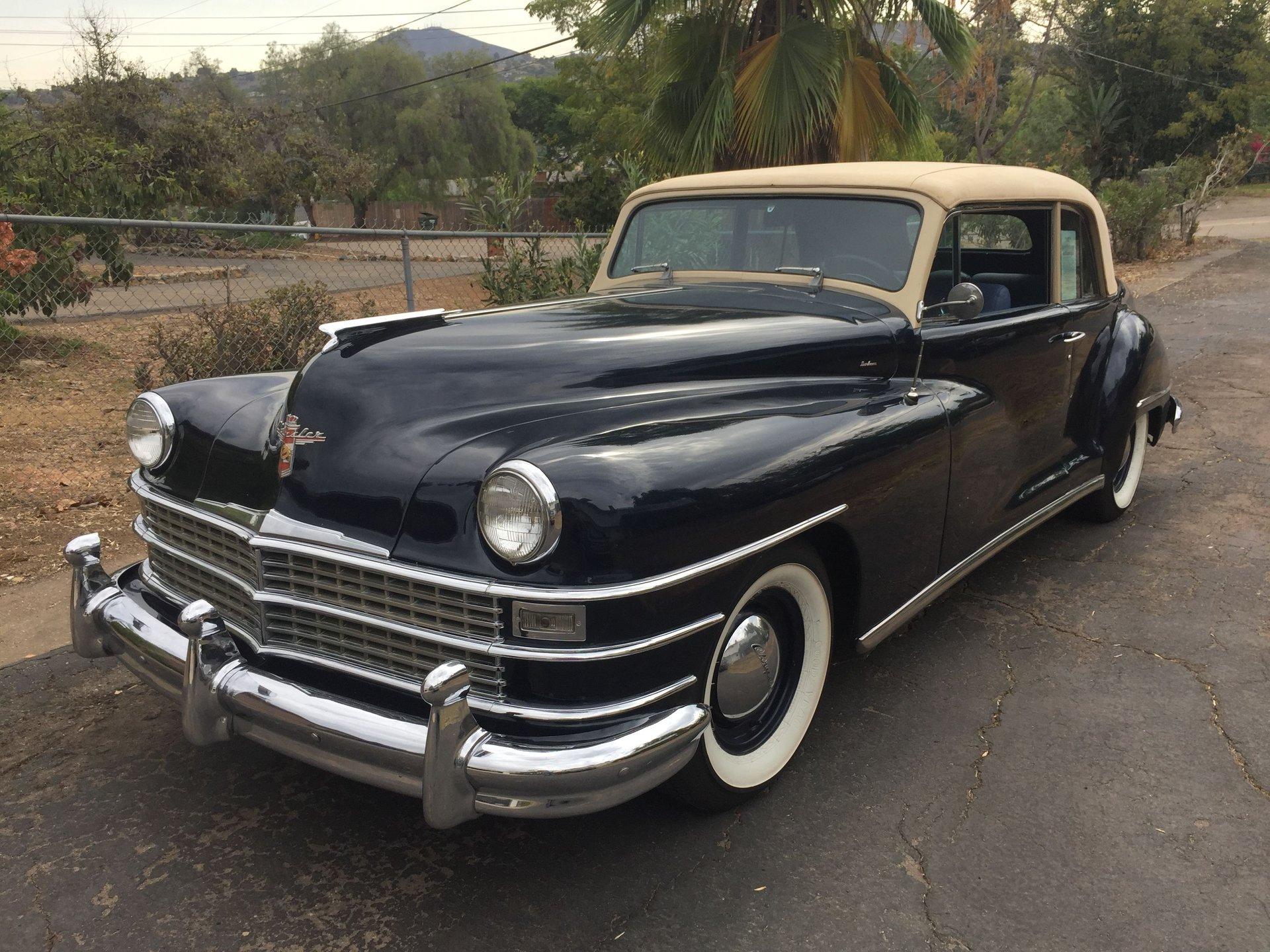 1946 chrysler new yorker custom continental