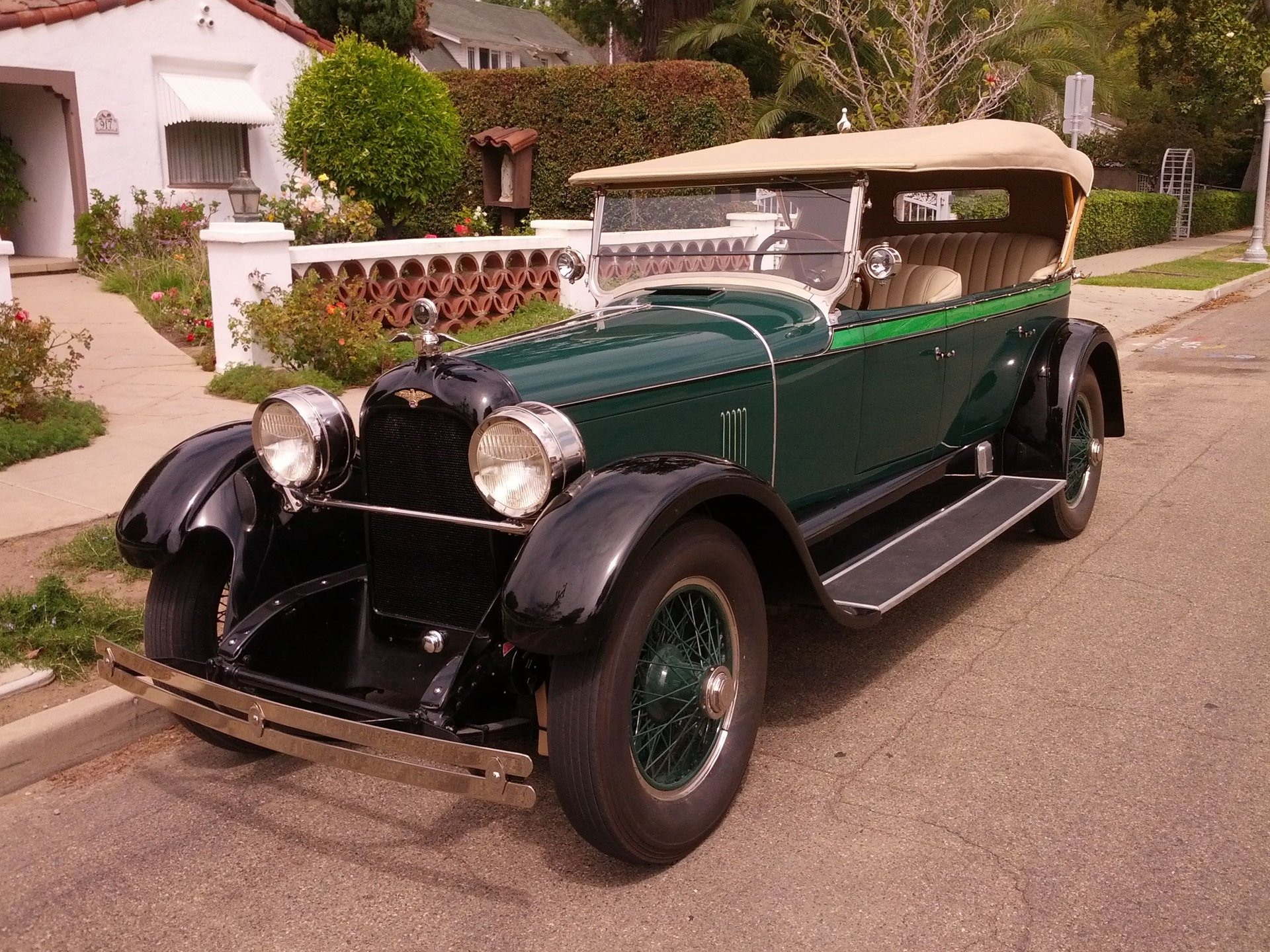 1925 duesenberg straight eight model a