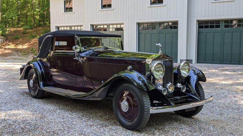 1933 Rolls Royce Phantom II Continental For Sale