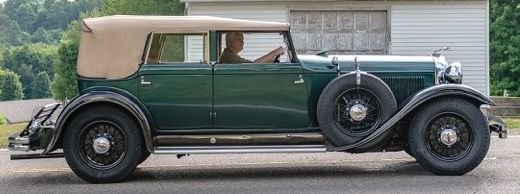 1931 lincoln k type 211