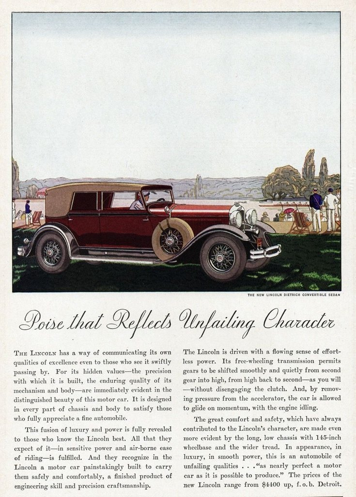 1931 Lincoln K For Sale