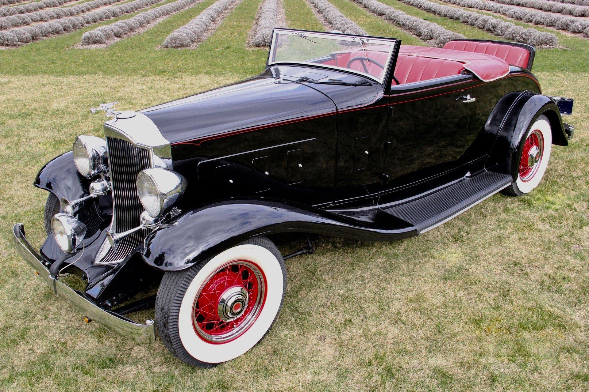 1932 packard 900 light eight