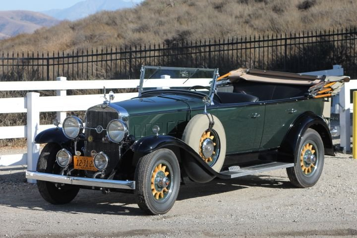 1931 lasalle touring 345a