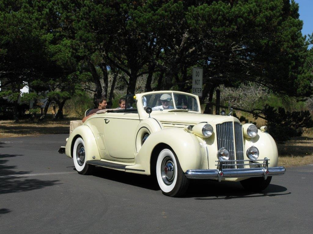 1938 packard victoria convertible