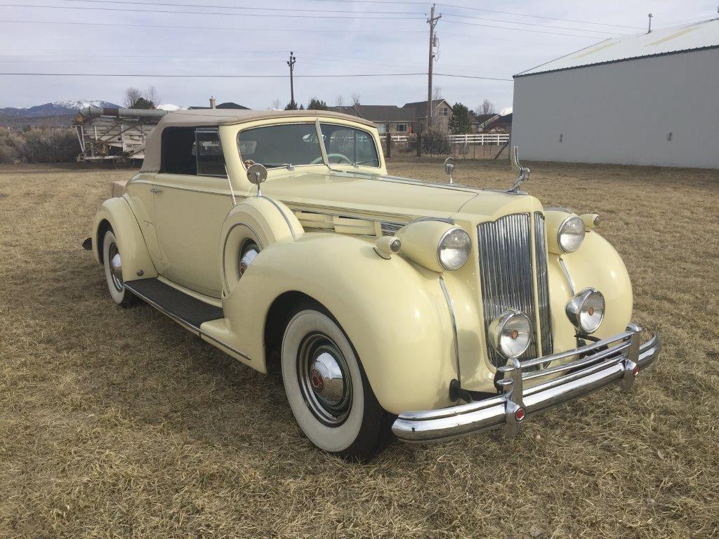 1938 Packard VICTORIA CONVERTIBLE | Classic Car Club of America
