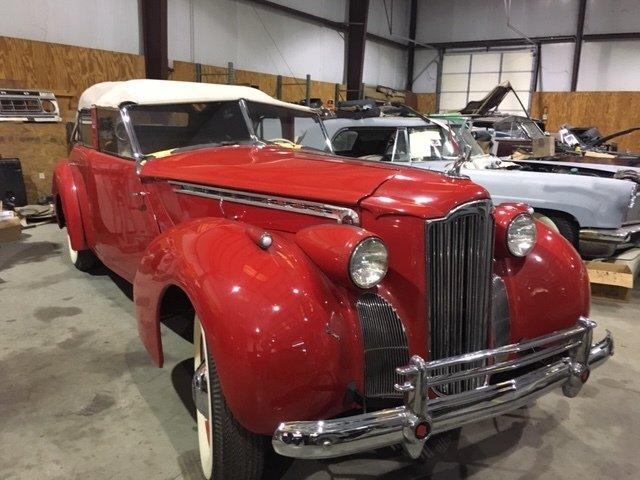 1940 packard 180 darrin convertible sedan