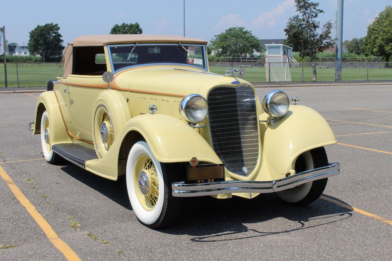 1934 Lincoln 523 Dietrich Roadster