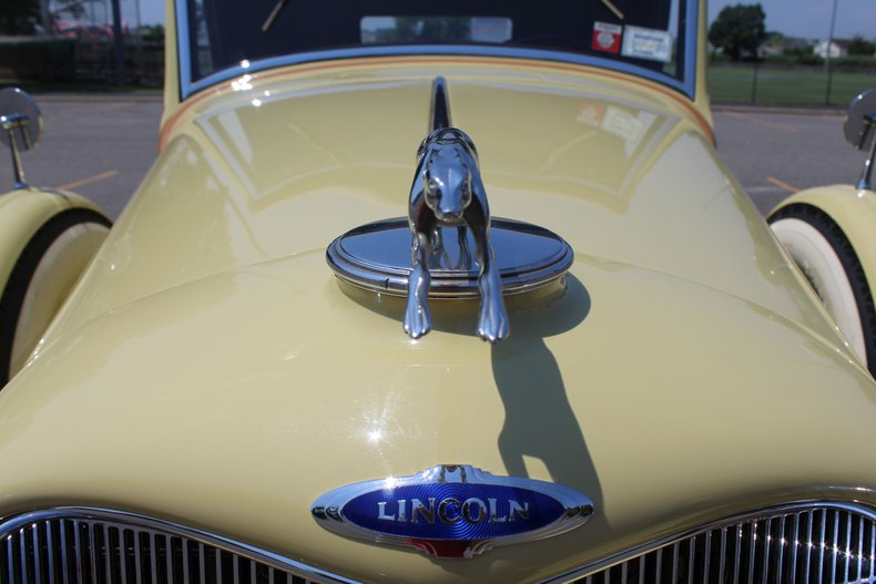1934 Lincoln 523 Dietrich Roadster For Sale
