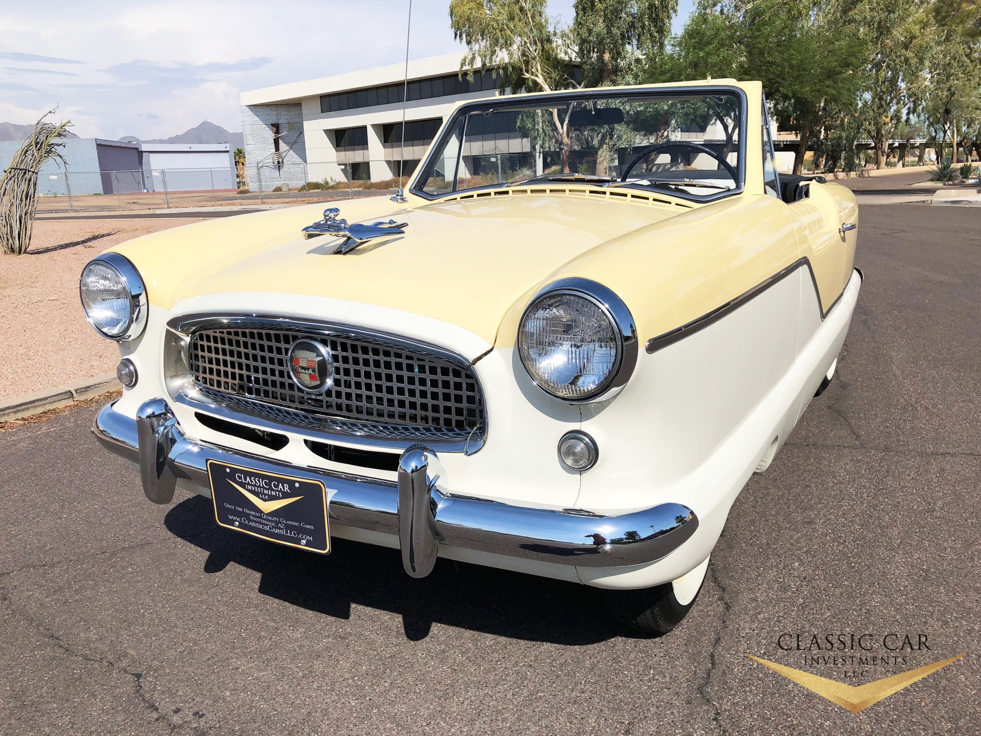1959 Nash Metropolitan Convertible For Sale 95408 Mcg