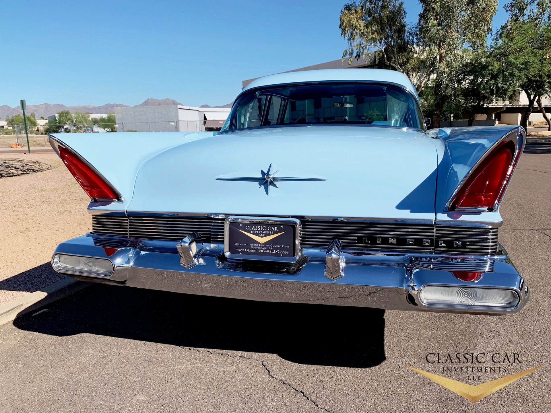 1957 Lincoln Premiere 4dr Ht For Sale 108156 Mcg