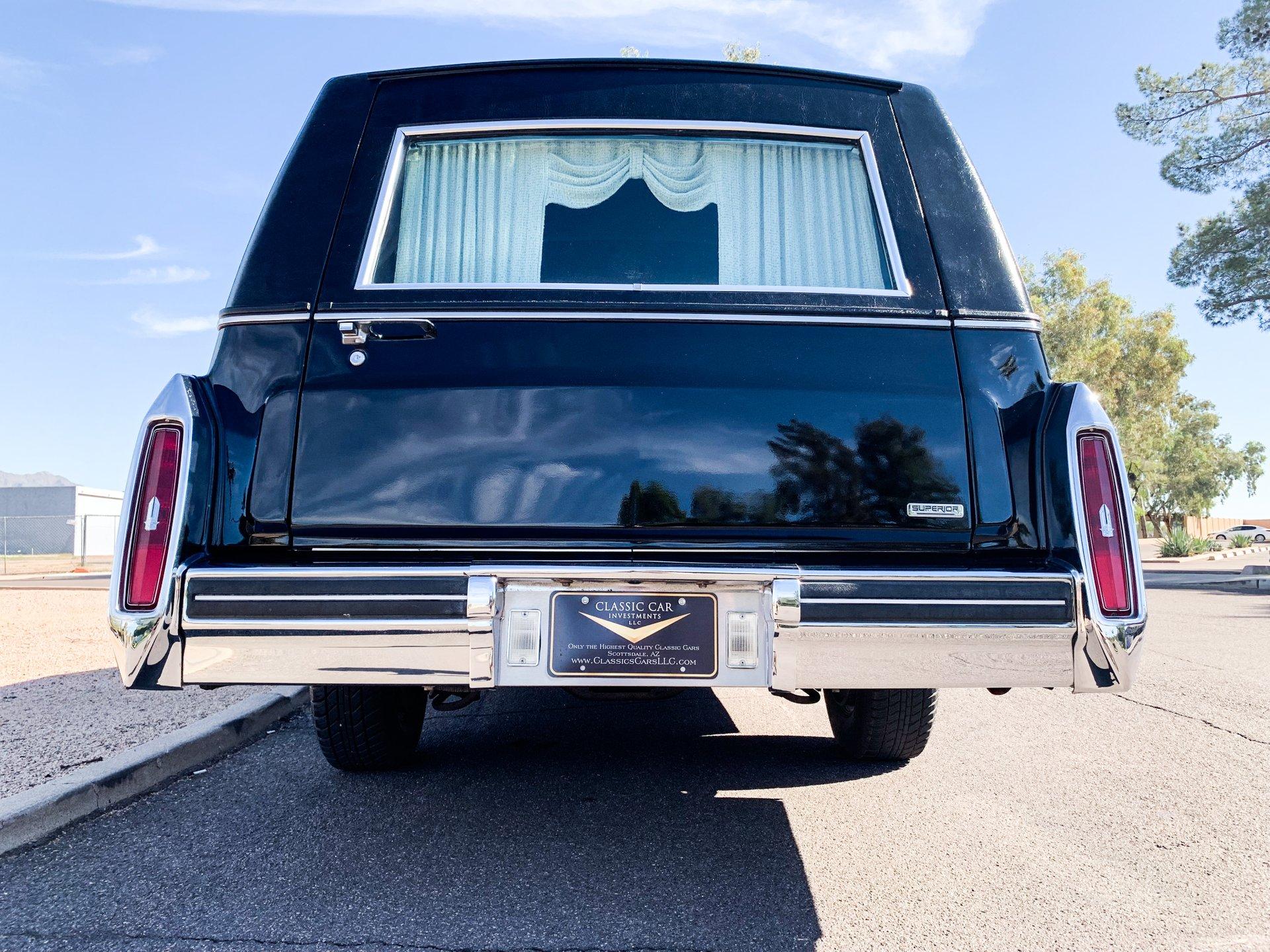 1980 Cadillac DeVille Superior Hearse for sale #109748 | MCG
